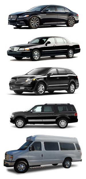 Our fleet of corporate transportation in Calgary